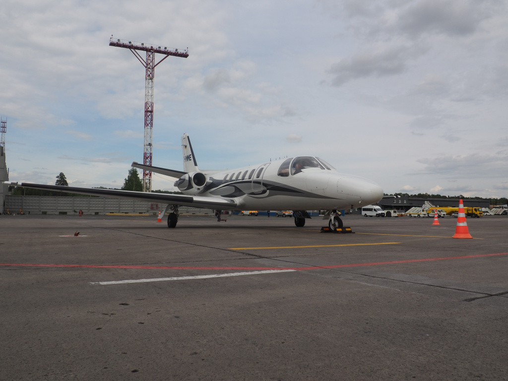 Cessna 551 Citation IISP — D-IMME.JPG